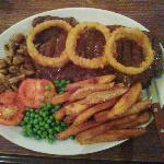 20 oz Rump Steak Meal is FANTASTIC