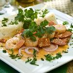 Shrimp and Chorizo entree