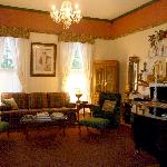 Originally the ladies' parlor, enjoy the baby grand piano or a good book.