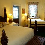 Perfect for those needing 2 beds, the Magnolia Suite.