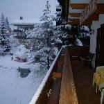 Dal balcone del nostro (si fa per dire) appartamento!