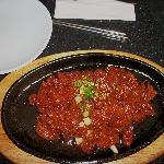Bulgogi, served w/ steamed rice.