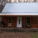 Front Of Little Easy Cabins (picture off our website)