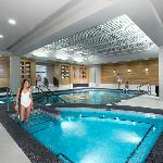 Enjoy our pool, Jacuzzi, steam room and exercise facilities