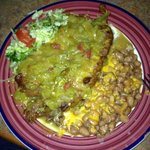 Chile Rellenos Plate