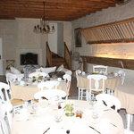 l'ancienne étable /salle à manger