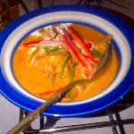 beef in red curry