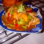 sweet & sour veal