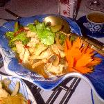 Gai Phad Broccoli (chicken with chili and broccoli