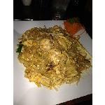 Spicy Chicken Pad Thai