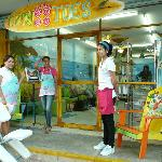 debbie and staff at Tippytoes
