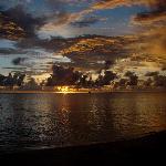 Un des fabuleux coucher de soleil