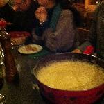 Cheese fondue pot