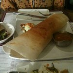 chicken tikka dosa at Bangalore Express