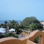 veiw from hotel room sea veiw! : )