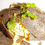 Moreton Bay Bugs and pasta with WA truffle