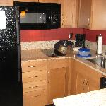 Very well equipped kitchen