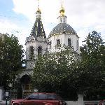 Church near the hotel