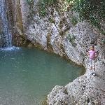 am romantischen Wasserfall