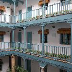 Courtyard view of Hospes Casas del Rey de Baeza