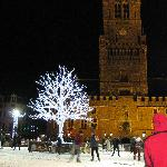 Ice rink in the Markt