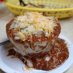 small bowl of Casper's chili