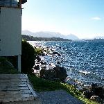 vista salida al lago del hotel