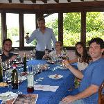 Wine tasting lesson