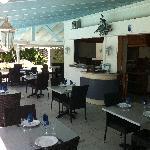 vue restaurant hostellerie