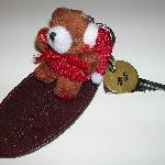 """A chave do quarto à """"moda antiga"""", adaptada à época natalícia..."""