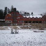 Main Lodge taken from the beach