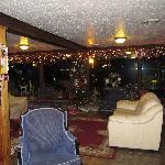 Decorated Sitting area
