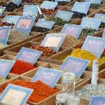 Spices in the market, Aix-en-Provence