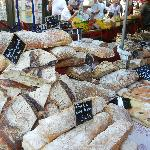 Traditional breads on market day, Aix-en-Provence