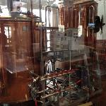 brewing equipment. sorry about the reflections.