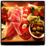 antipasti board. excellent!