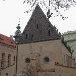 Simple little church in the Jewish Quarter