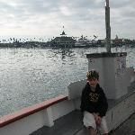 On the Balboa Island Ferry