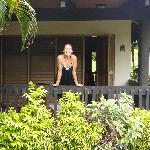 Our beach front spa villa
