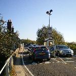 Quaint little toll road outside