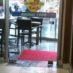 inside bambi cafe