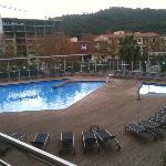 piscina del hotel (para el verano)