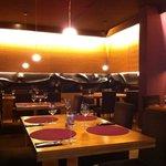 interior restaurant Noir