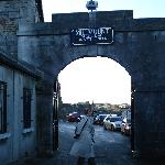 Entrance to Millmount museum