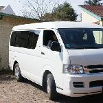 Free airport transfer vehicle