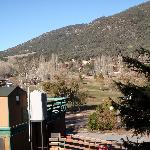 View from front deck of Pine Mtn. Club resort