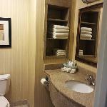 Granite finish bathroom