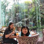 restaurant beside the pool area