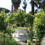 le jardin!