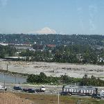 Mt. Baker from the sky train.